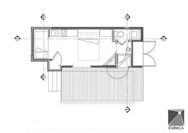 Dieses Haus Misst Nur 15 Quadratmeter. Doch Als Ich Es Von Innen Sah.