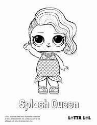 Lol Splash Queen Dolls Coloring Pages Unicorn Coloring Pages