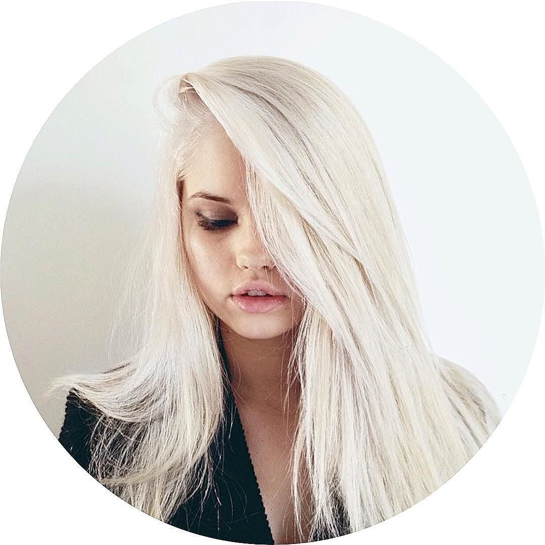 For even more fun, go beyond blonde and try white hair dye. This ...