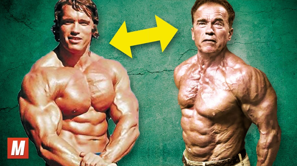 Arnold Schwarzenegger From 17 To 70 Years Old Youtube Old Bodybuilder Arnold Schwarzenegger Schwarzenegger