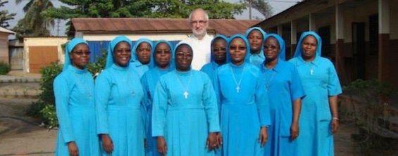 Ślużebnice Miłości Odkupieńczej Chrystusa - gałąź Rodziny Wincentyńskiej w Beninie.