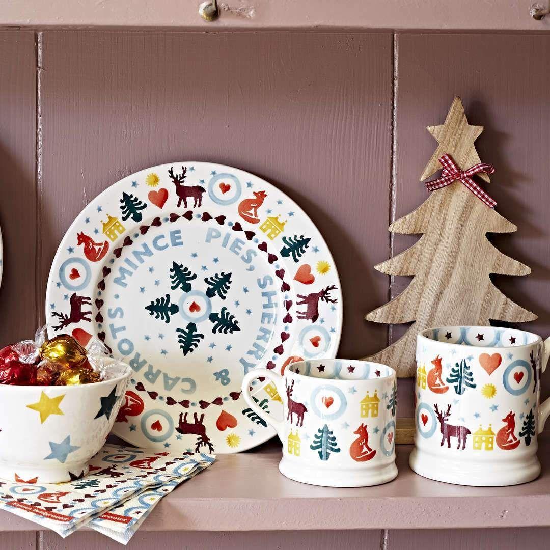 Christmas Brights 1 2 Pint Mug Emma Bridgewater Uk Emma Bridgewater Emma Bridgewater Pottery Bridgewater