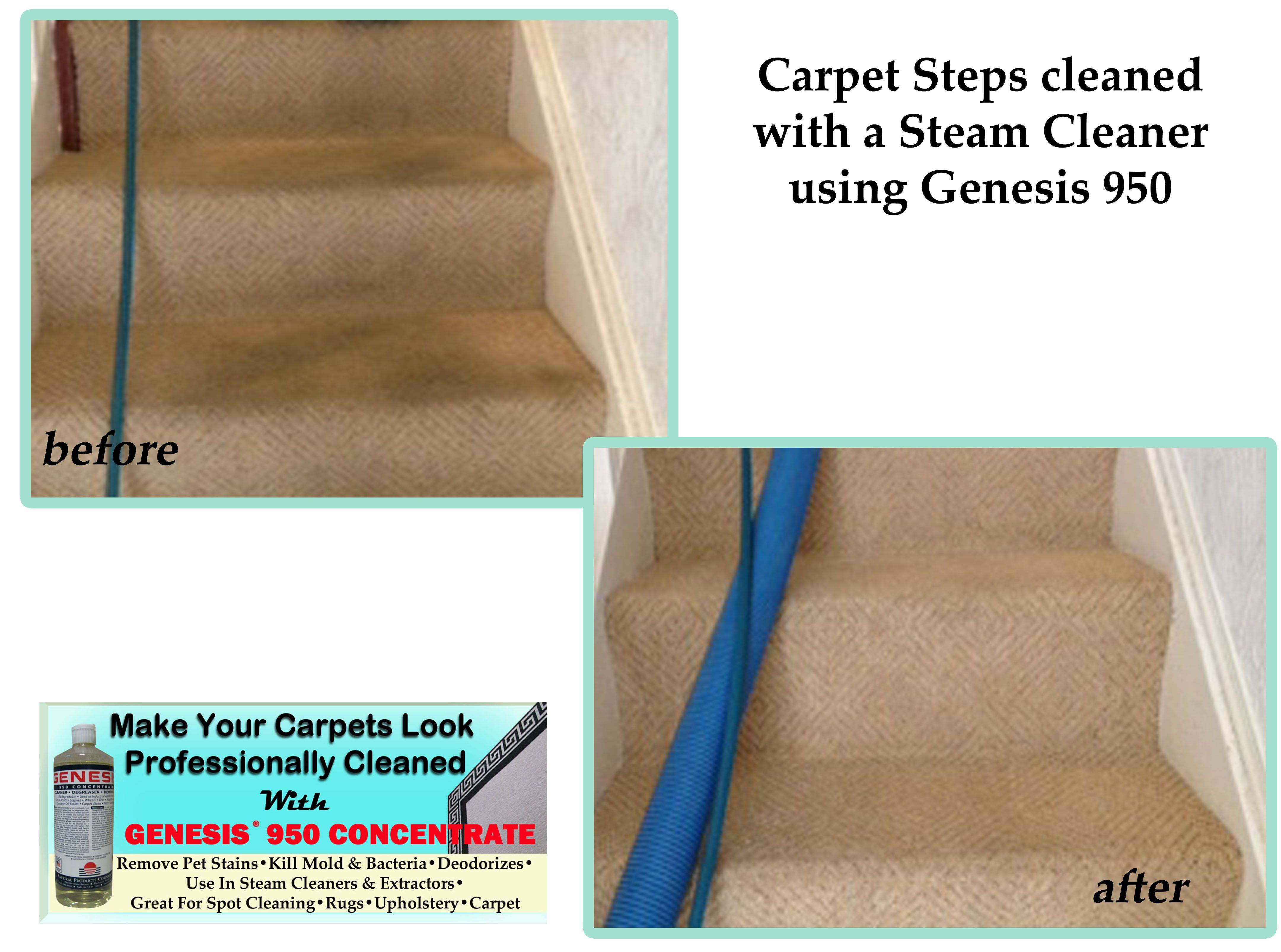 Before After Carpet Cleaner Heavy Traffic Stains On Carpeted Stairway Carpet Cleaning Stain Remover Carpet Remove Pet Stains Pet Stains