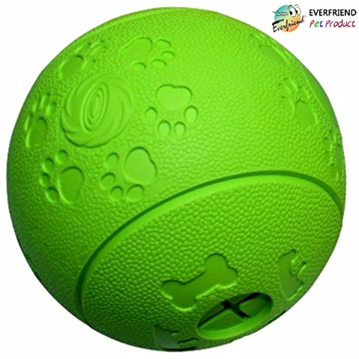 Everfriend Interactive Soft Rubber Toy Ball For Dogs Puppies