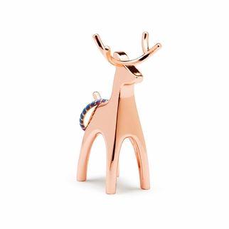 Umbra Anigram Copper Ring Holder, Reindeer  | The Organizing Store | Gifts for the Host + Hostess