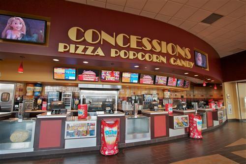 Movie Theatre Lobby Concessions Lobby Display Jay Burt Yankee Dawg Movie Theater Theatre Cinema Theatre