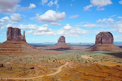 Arizona, Desierto, Paisaje, Montaña
