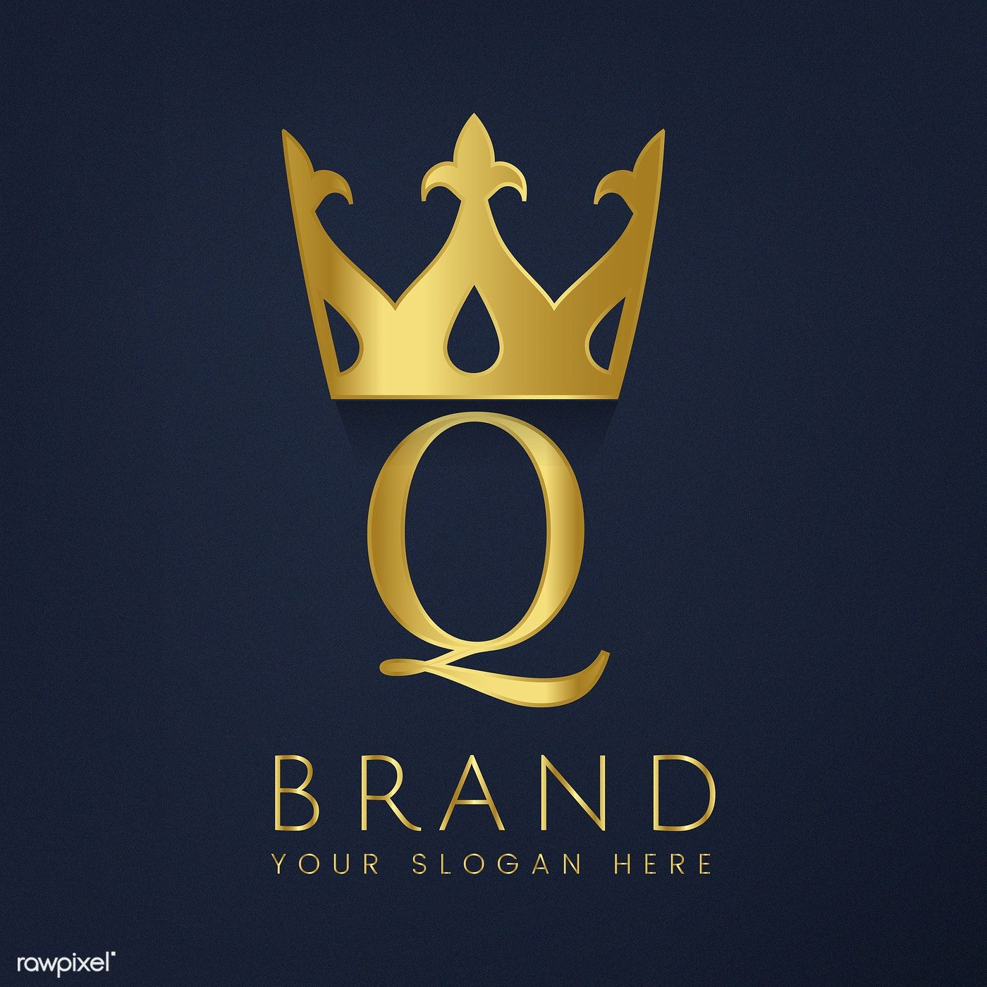 Premium Q brand creative vector free image by