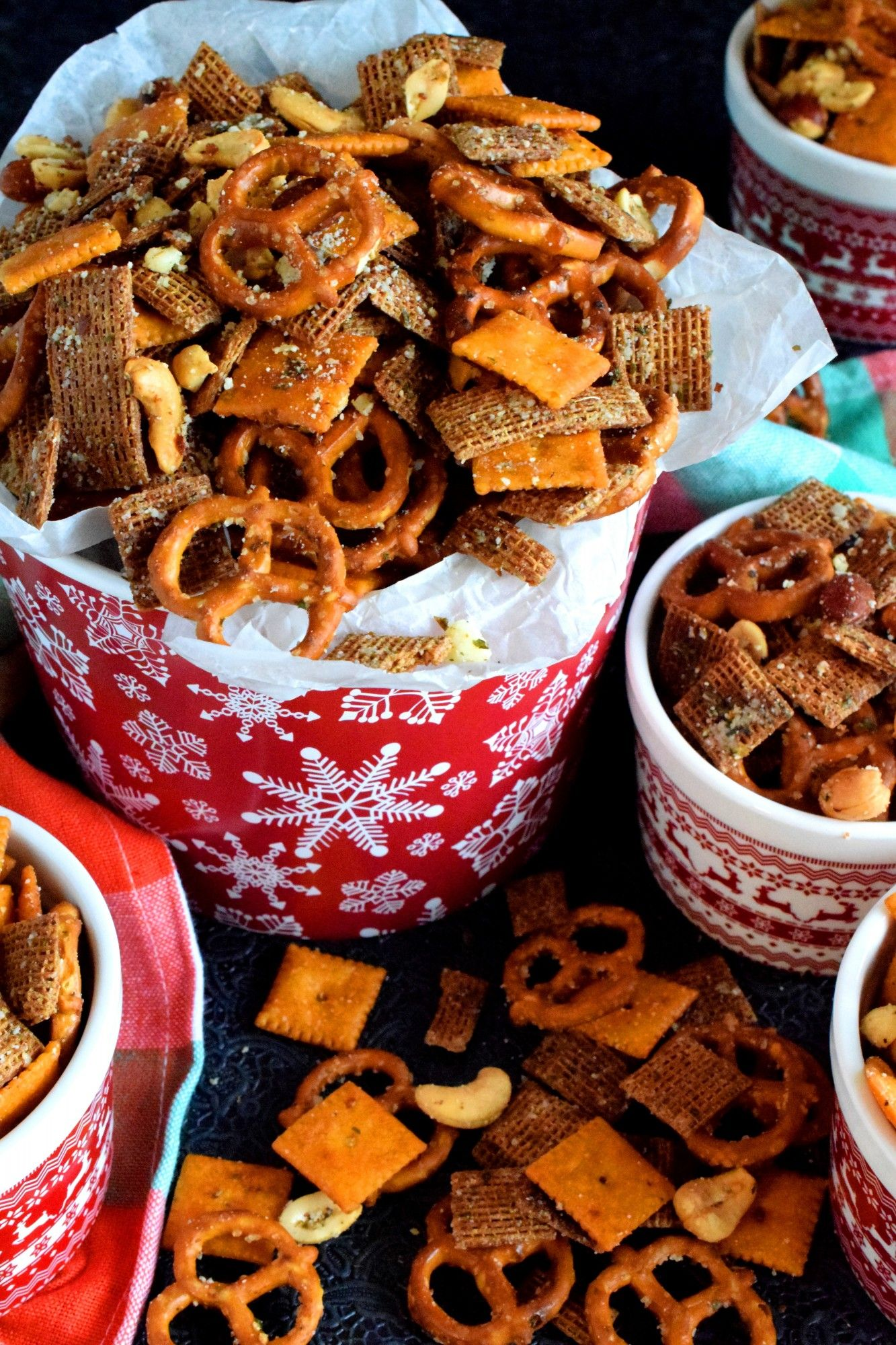 Christmas Eve Savoury Snack Mix Lord Byron S Kitchen Grab N Go