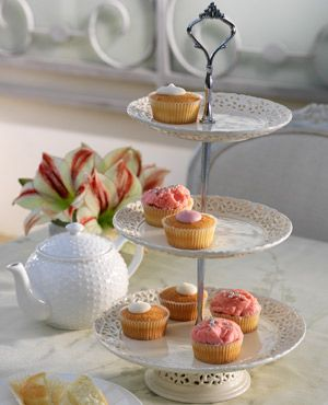 traditional cake stand image - Google Search