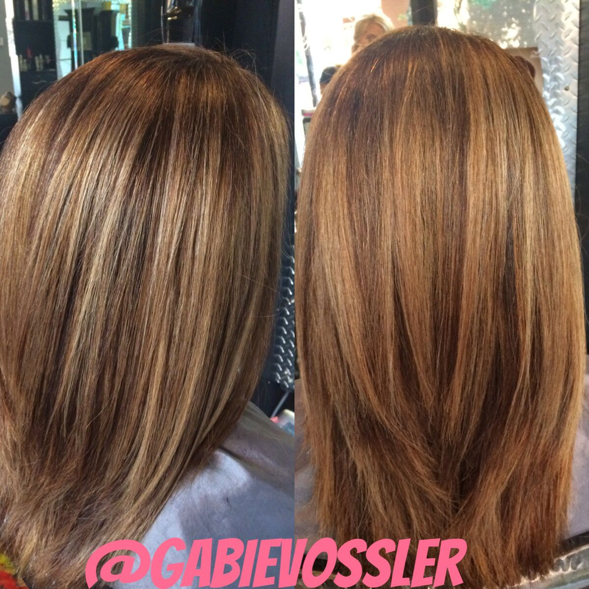#balayage Hair By Gabie Vossler At Glass Door Salon And Spa