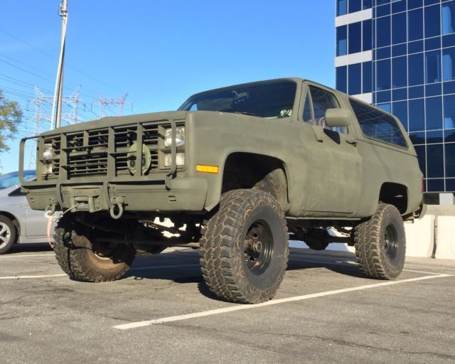 1985 Chevrolet Blazer Military Cucv M1009 For Sale Photos Technical Specifications Description Chevrolet Blazer Chevrolet Chevy Trucks Older