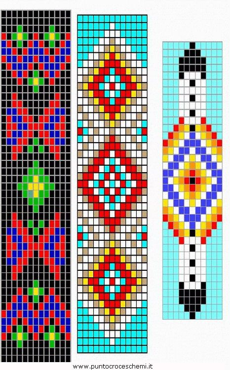Resultado De Imagem Para Easy Bead Loom Patterns Beads Pinterest Mesmerizing Bead Loom Patterns For Beginners
