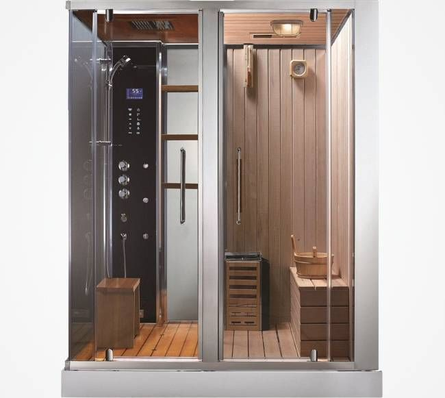 Steam Shower Sauna Combo By Aquapeutics 5799 Diseno De Banos Banos De Lujo Bano De Lujo