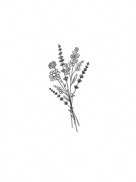 Photo of Flower Tattoos . Flower Tattoos