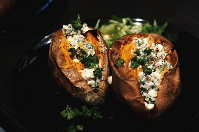 Baked Sweet-Sweet Potatoe