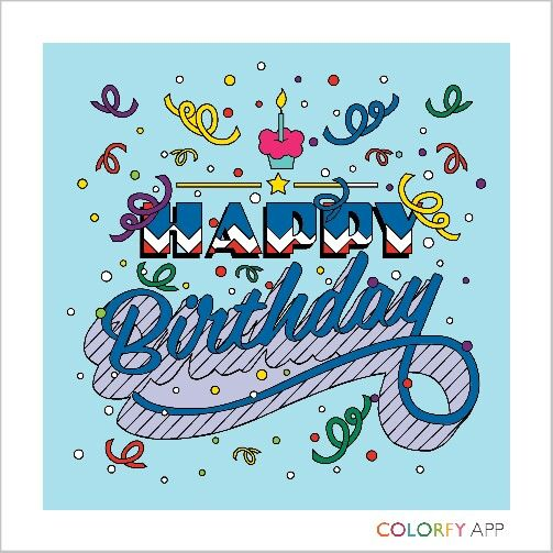 Happy birthday to the best husband EVER! | Colorfy, Easy ...