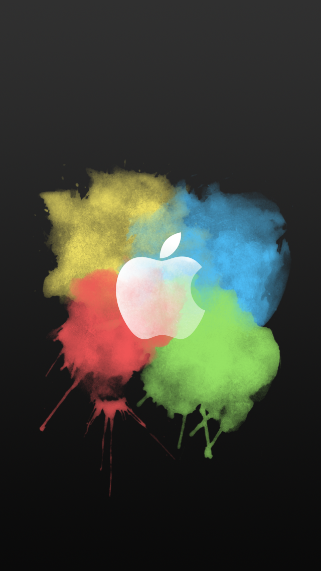 IPhone Colorful Apple Designs