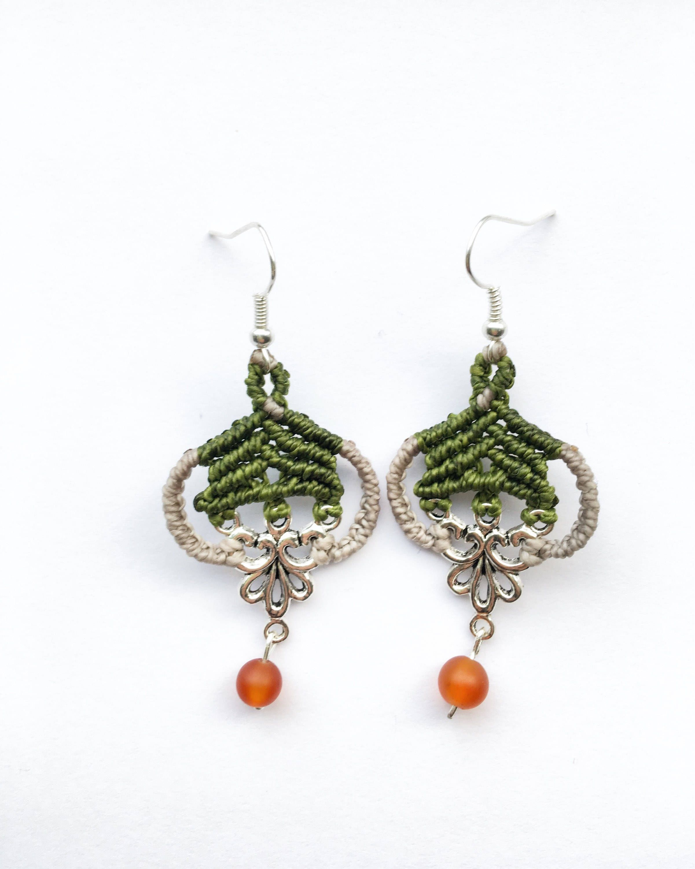 trendy green silver jade jewellery peacock productgfx sea arts handmade anwitaa earrings casual img collections artisan