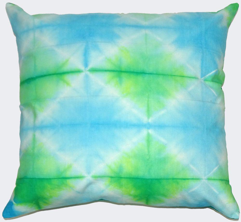 Pc lot tie dye cotton cushion cover square sofa decor square floor