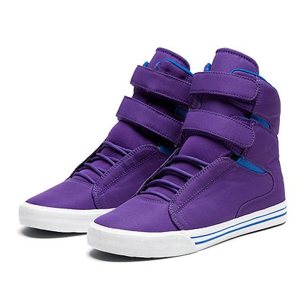 buy popular 19046 59b28 SUPRA SOCIETY   PURPLE   ROYAL - WHITE   Official SUPRA Footwear Site