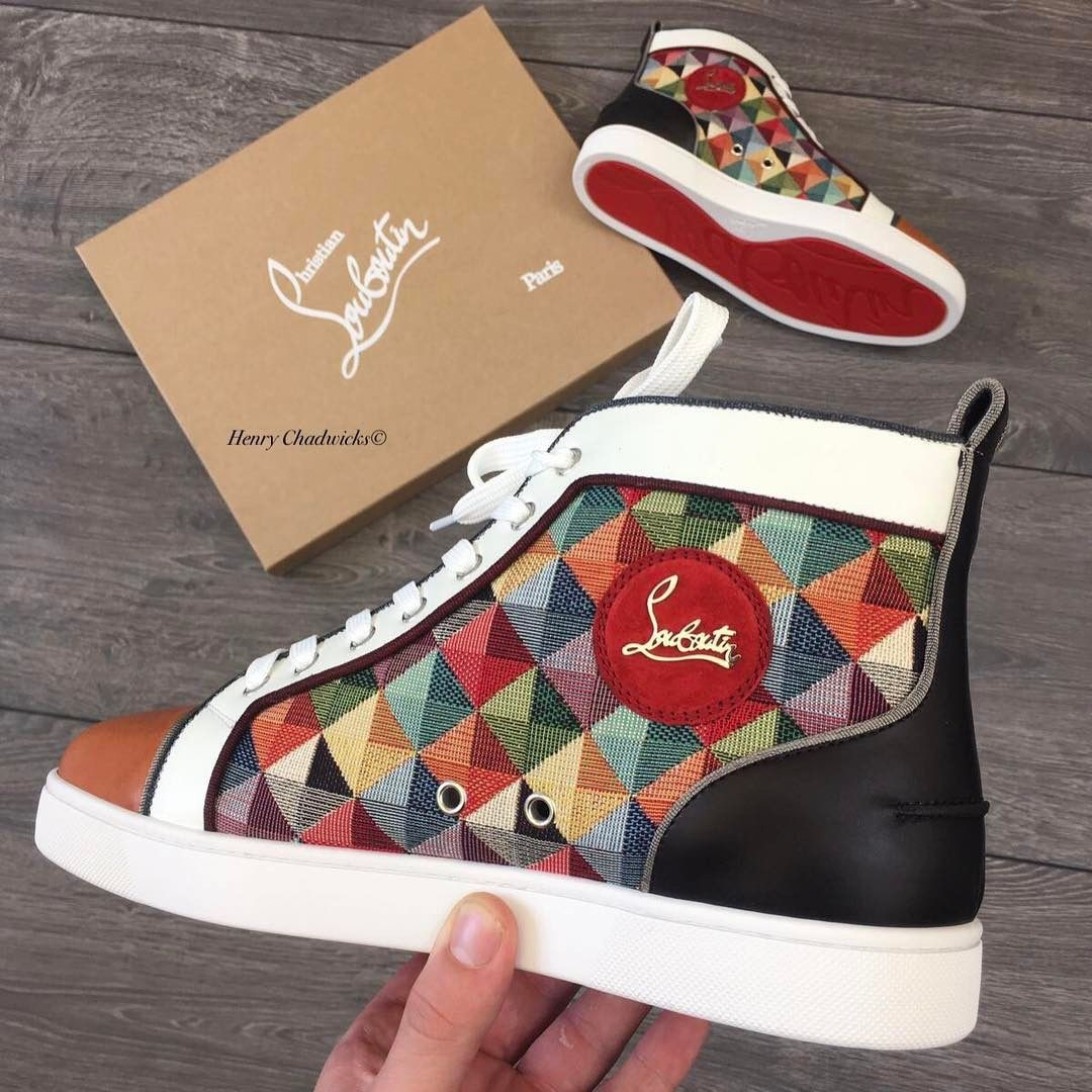 76763b99fc4a Christian Louboutin Sneakers Pic via  henrychadwicks (instagram)  redbottom   sneakers  mens  Louboutin
