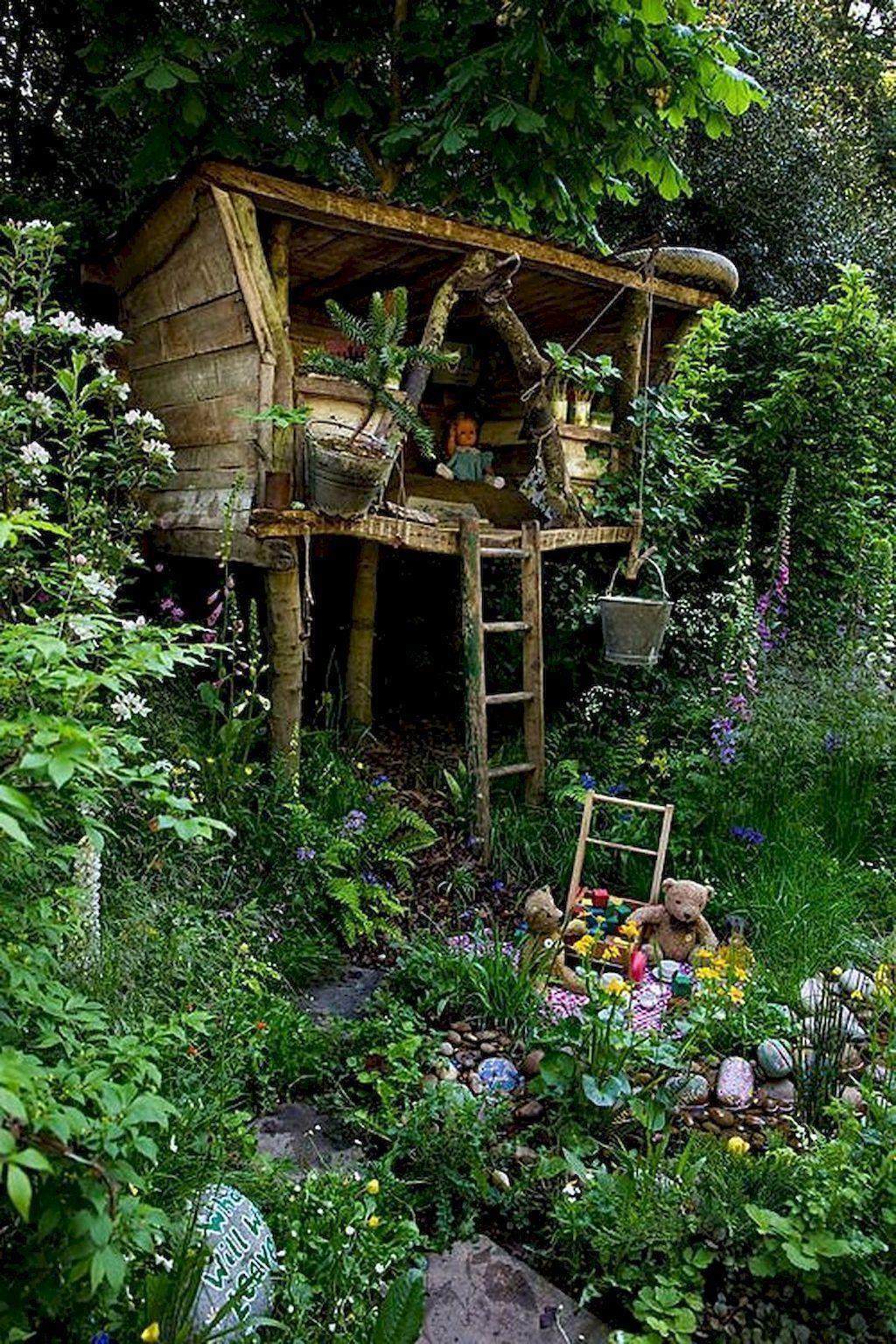 01 Creative Small Backyard Playground Kids Design Ideas in ...