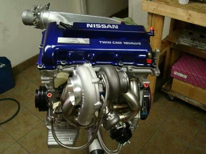 SR20 Complete with turbo  | Engines | Datsun roadster, Nissan