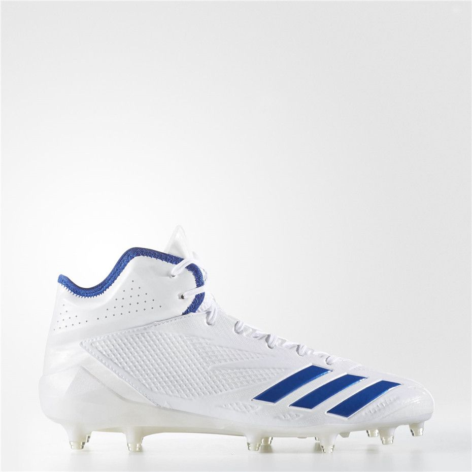 new concept 46bdc f124f Adidas adizero Afterburner 3 Cleats (Running White)   Adidas adizero Shoes    Pinterest   Adidas baseball, Baseball shoes and Cleats