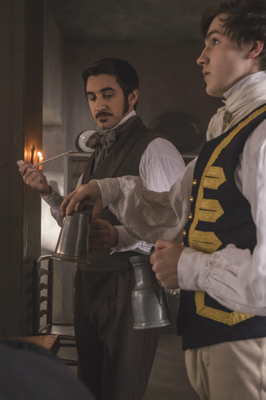 Charles Elme Francatelli Ferdinand Kingsley In Victoria Tv
