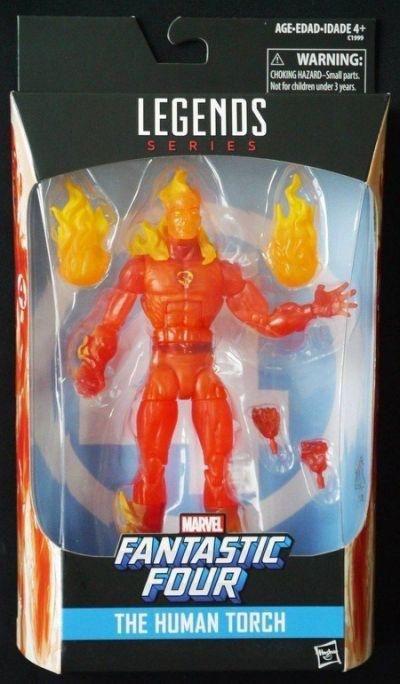 Marvel Legends WALGREENS Exclusive FANTASTIC 4 HUMAN TORCH FIGURE