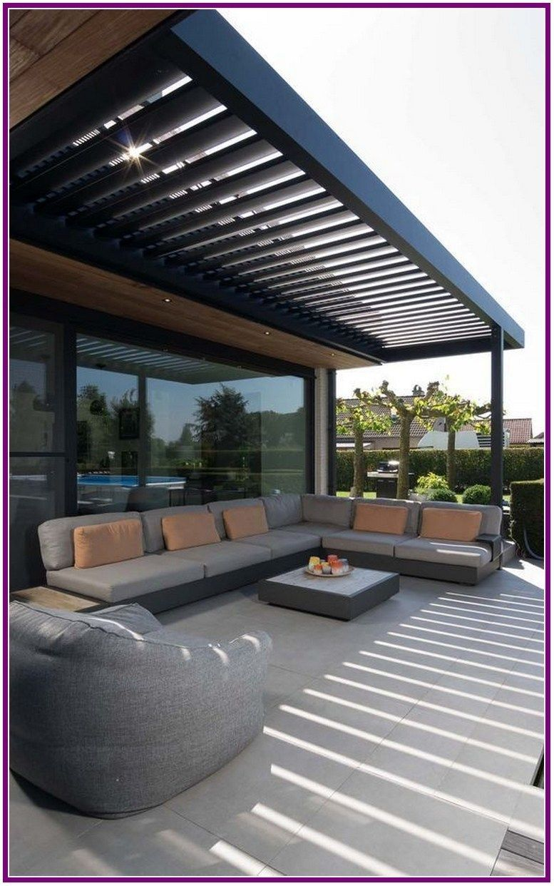 27 patio pergola with swing beds and outdoor kitchen 00015