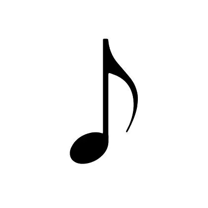 Quaver By Inkbox A Quaver Is A Music Note It S Value Is One Eighth Of A Whole Note Did You Know That To Q Music Notes Music Notes Tattoo Music