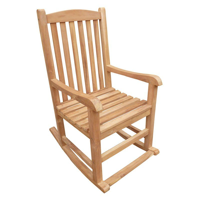 Amazing Outdoor Seven Seas Teak Patio Rocking Chair Products In Gmtry Best Dining Table And Chair Ideas Images Gmtryco