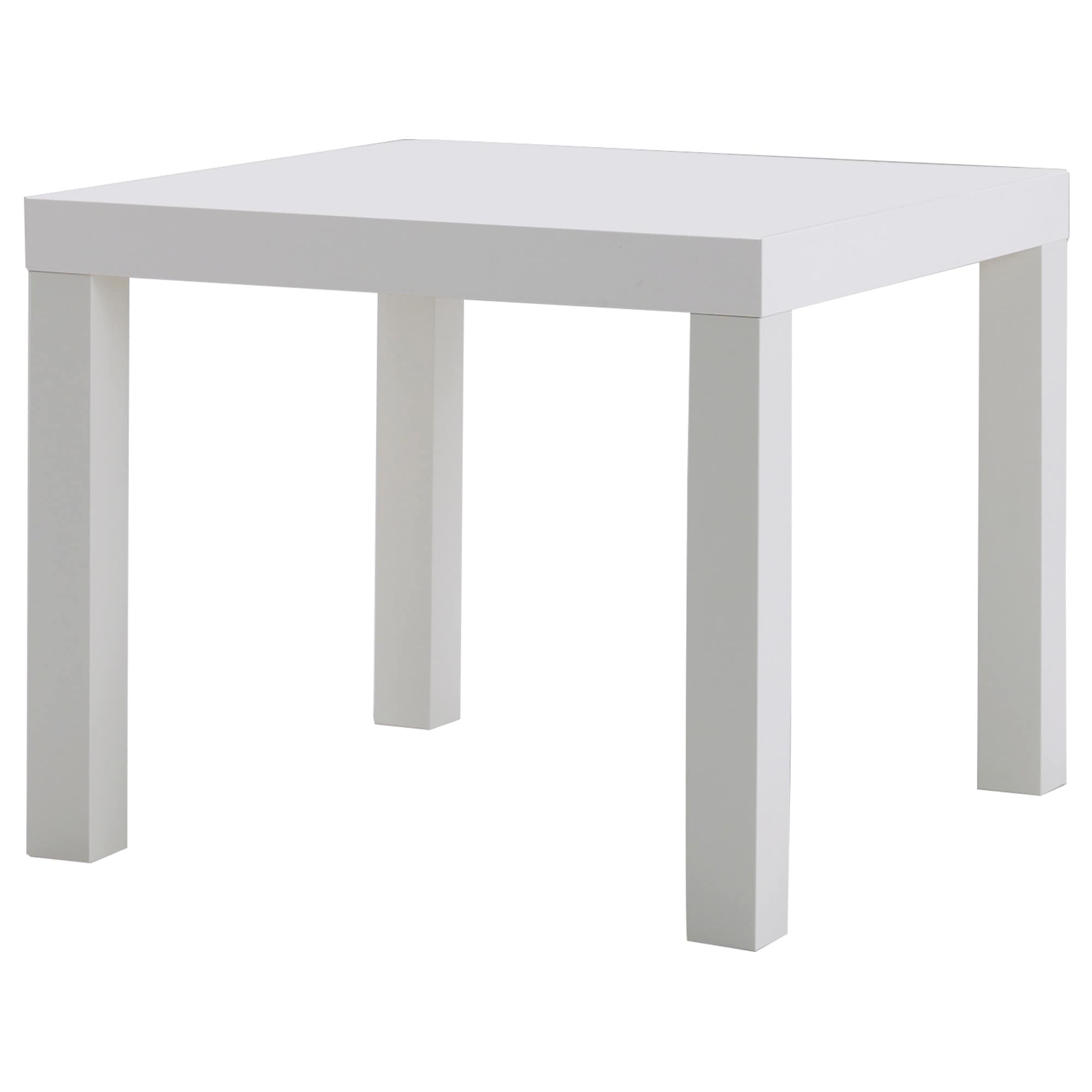 IKEA  LACK Side table white is part of Home Accents Ikea Hacks - IKEA Side table white Length 55 cm, Width 55 cm, Height 45 cm, Max  load 25 kg, 20011413