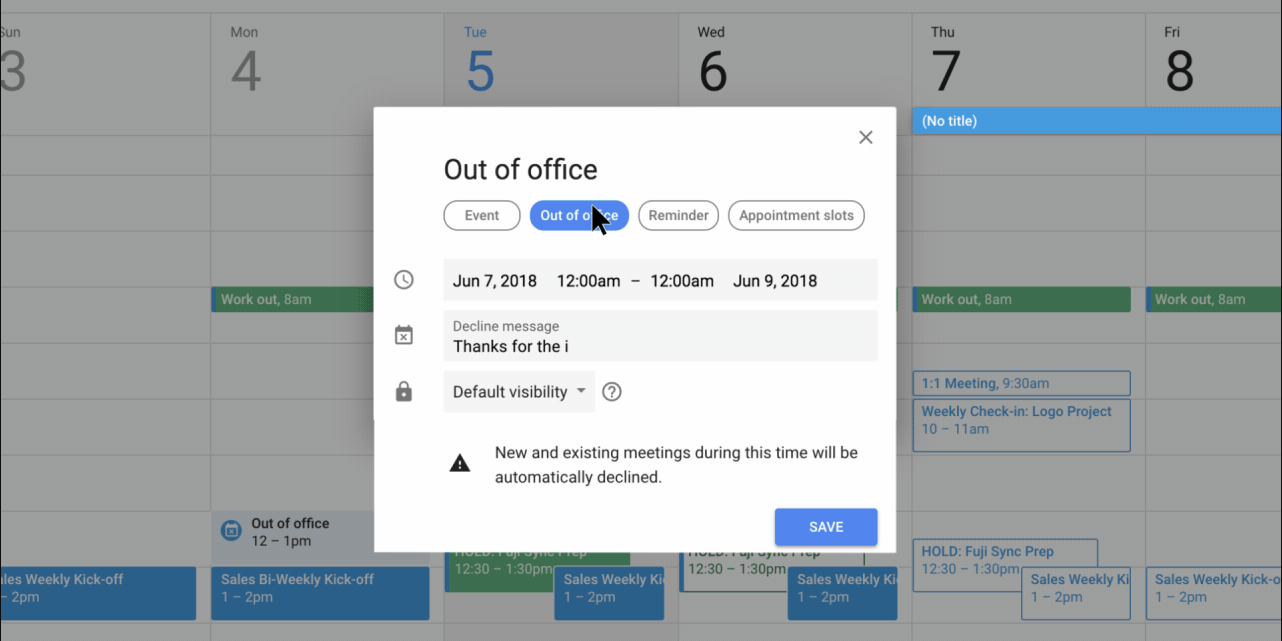 How To Set Up An Out Of Office Message In Gmail On A Computer Or