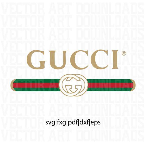 gucci washed inspired logo vector art svg dxf fxg pdf eps grafick rh pinterest com logo gucci vectoriel gucci vector free download