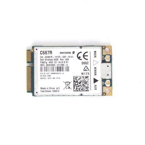 New Dell 5530 3G F3507G Wireless WWAN Card GPS XX982 UMTS