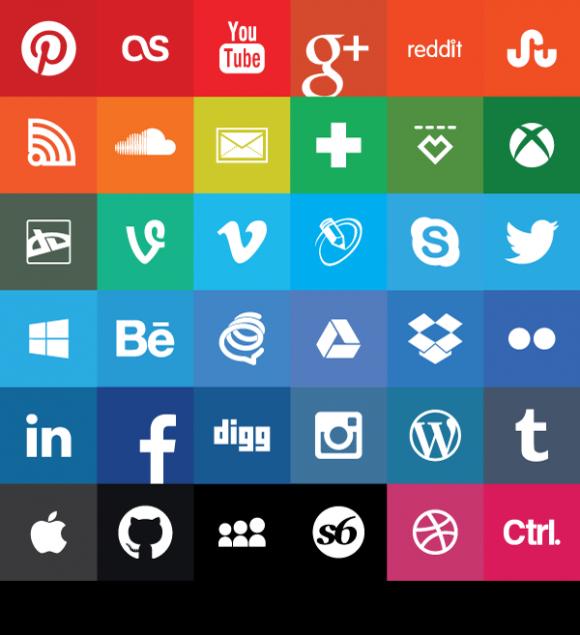 1, 2 Many Share icon, Social media icons, Social media