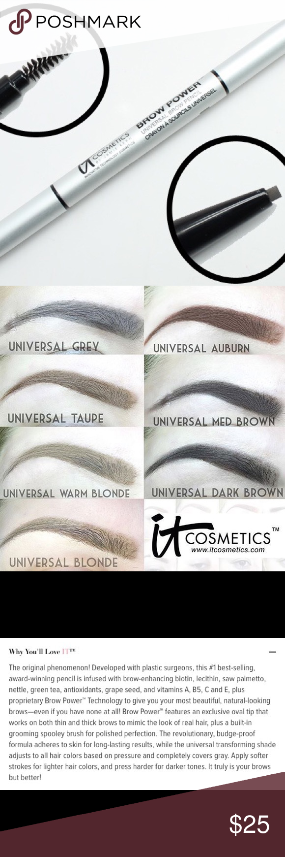It Cosmetics Brow Power Universal Eyebrow Pencil It Cosmetics