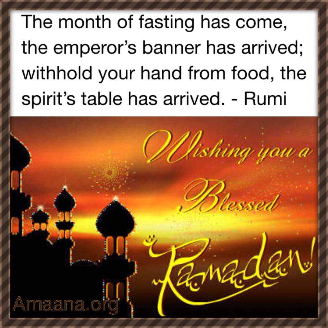 Rumi On Ramadan Rumi Pinterest Sufi Ramadan And Hafiz