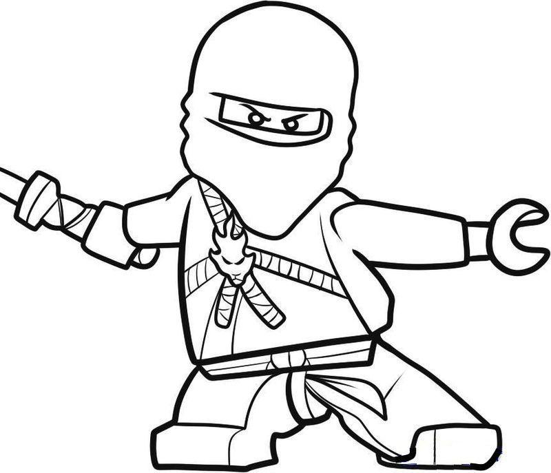 ausmalbilder lego ninjago free printables  ninjago