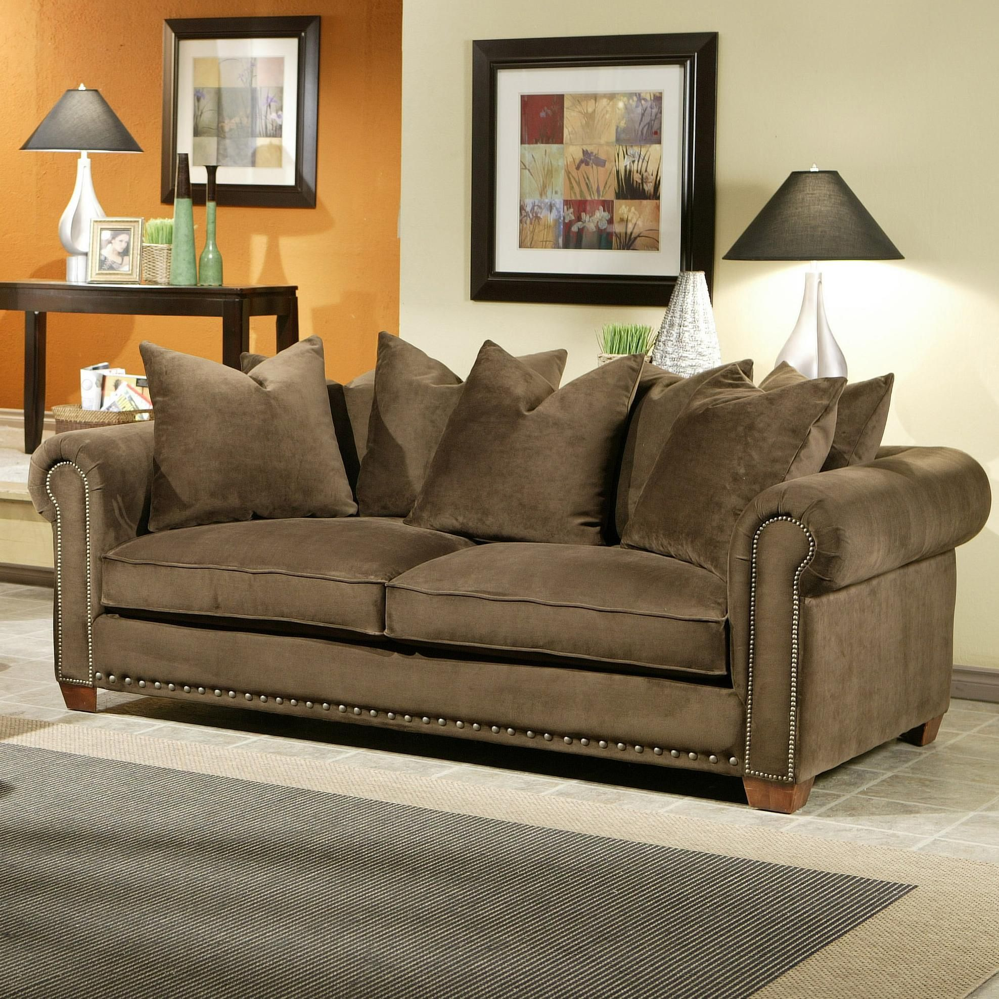 Panache Sofa By Robert Michael