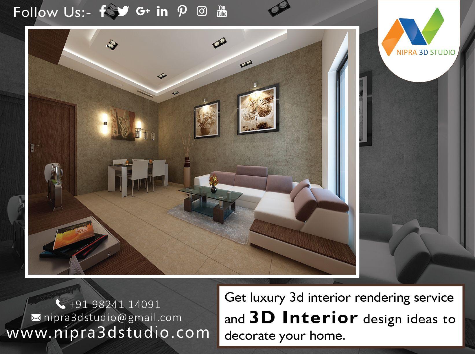 Get Luxury 3dinterior Renderingservice And 3d Interior Design
