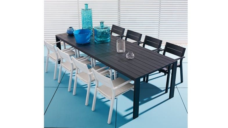 Piano Rectangular Dining Table | Domayne