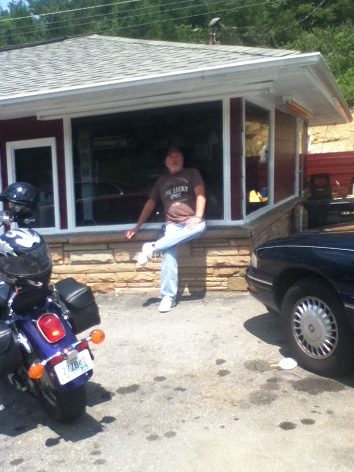 motorcycle riding and hamburgers at the hobnob in gate city