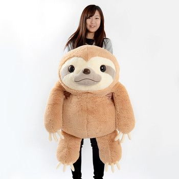 Giant Sloth Plushie For The Dorm Pinterest Plushies Sloth And