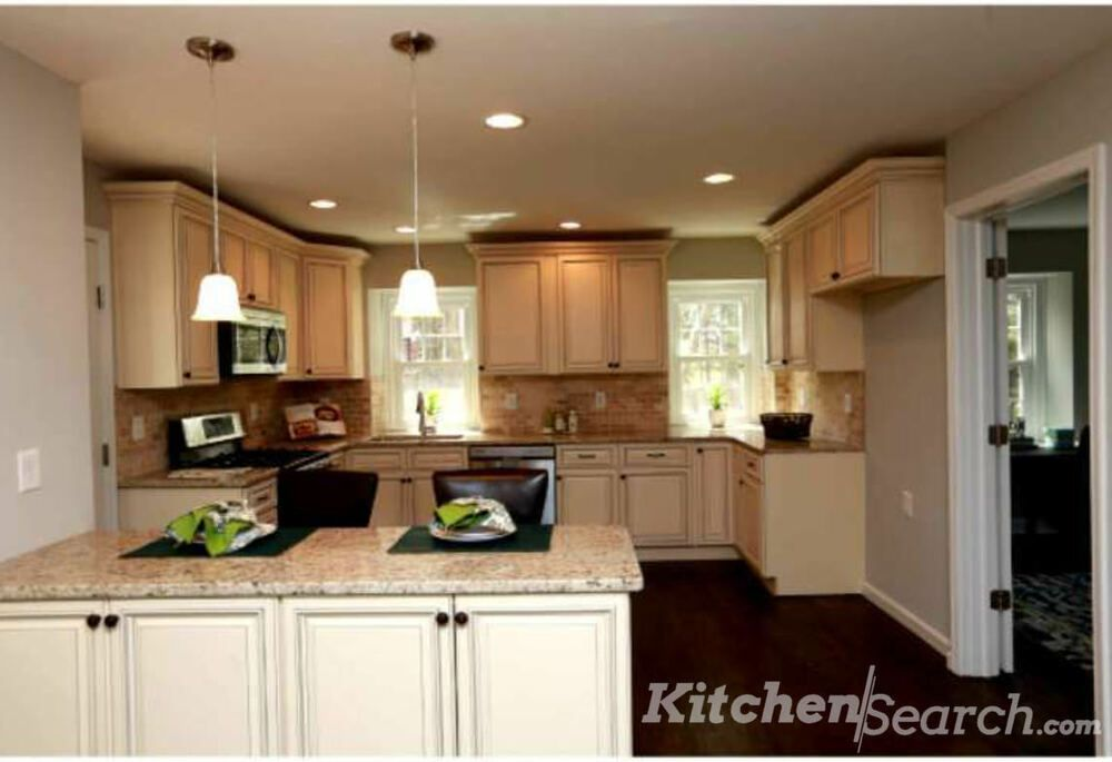 Details About All Wood Kitchen Cabinets 10x10 Rta