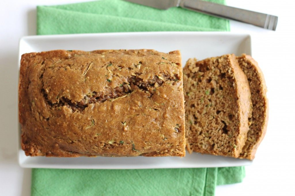 Little Chef Big Appetite - Healthy Whole Wheat Zucchini Bread
