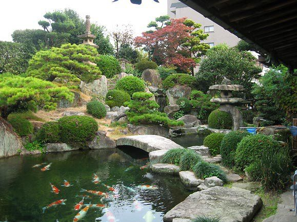 Japanischer Stil Japanisch Garten Gartengestaltung
